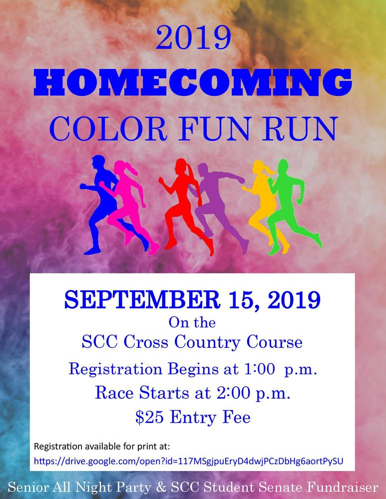 Homecoming Color Fun Run