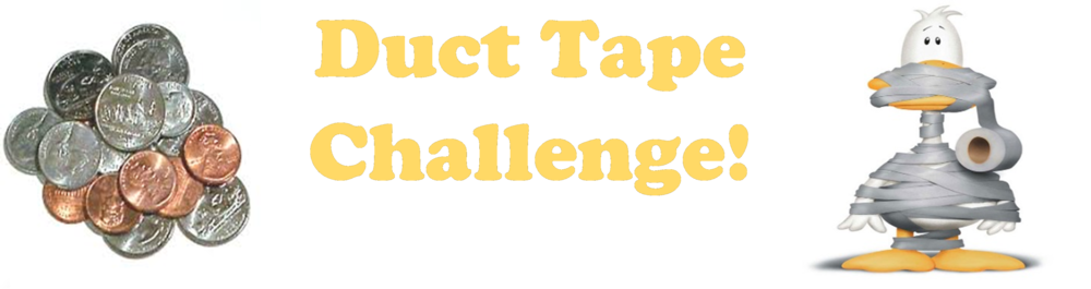 Duct Tape Challenge for Holiday Angels