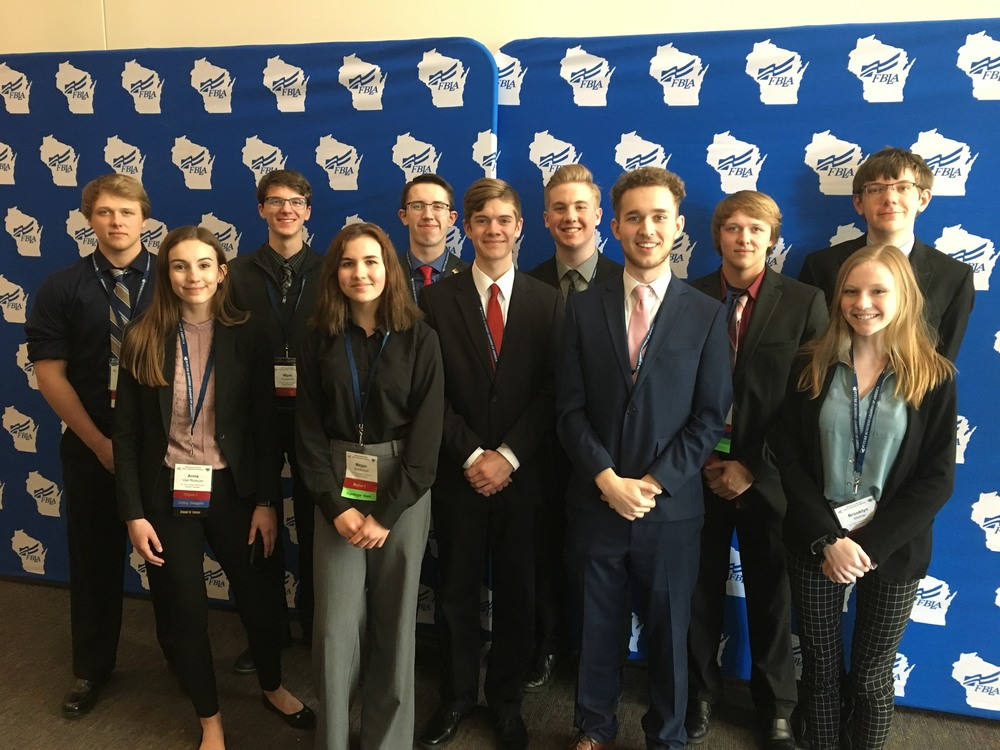 2 Advance to National FBLA Conference