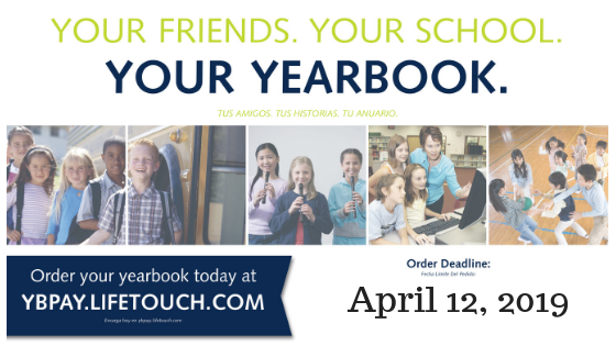 Order Your MS Yearbook!