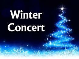 Elementary Winter Concerts Schedule
