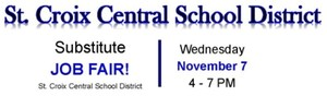 Substitute Job Fair - Tonight!  4pm - 7pm