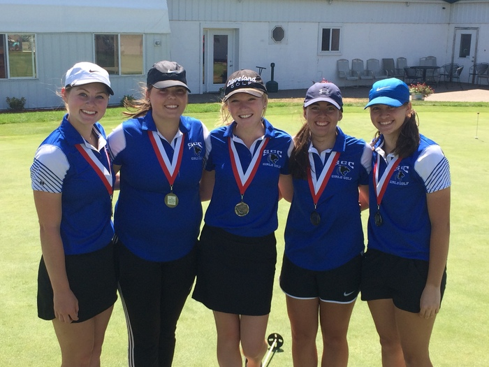 SCC Girls Golf 2nd Place Finish