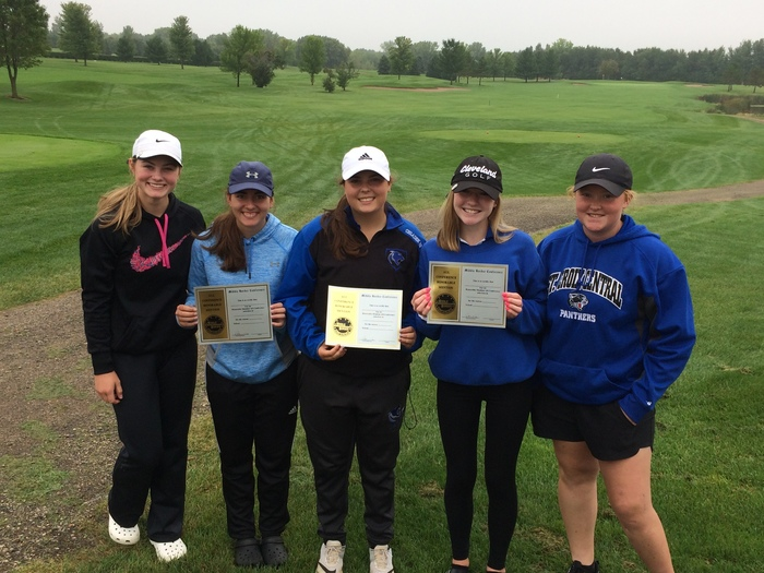 SCC Girls Golf 3rd Place overall in conference
