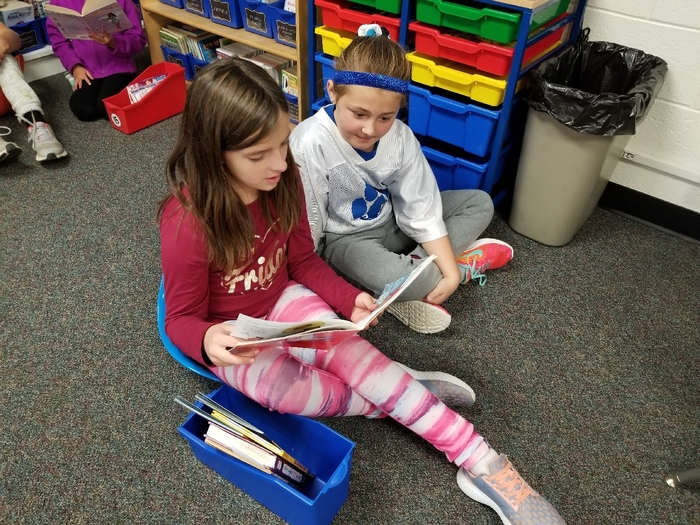Reading is better with a buddy!