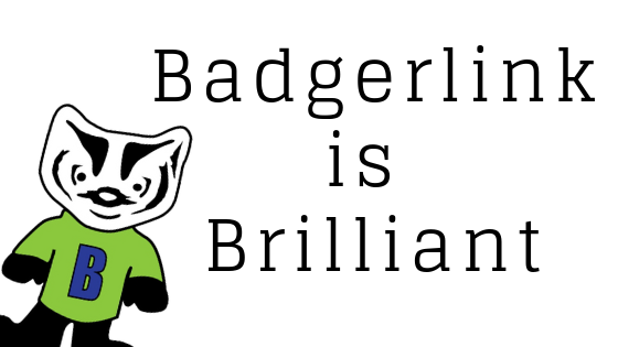 badgerlink is brilliant