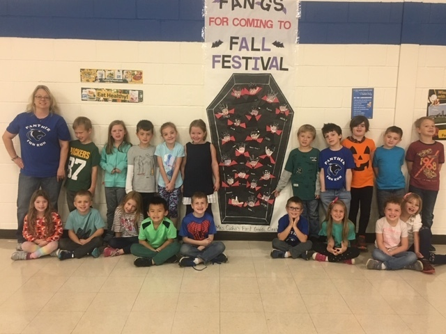 Mrs. Cicha's class Fall Festival project