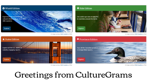 greetings from CultureGrams