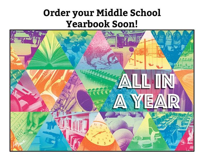 order your yearbook soon