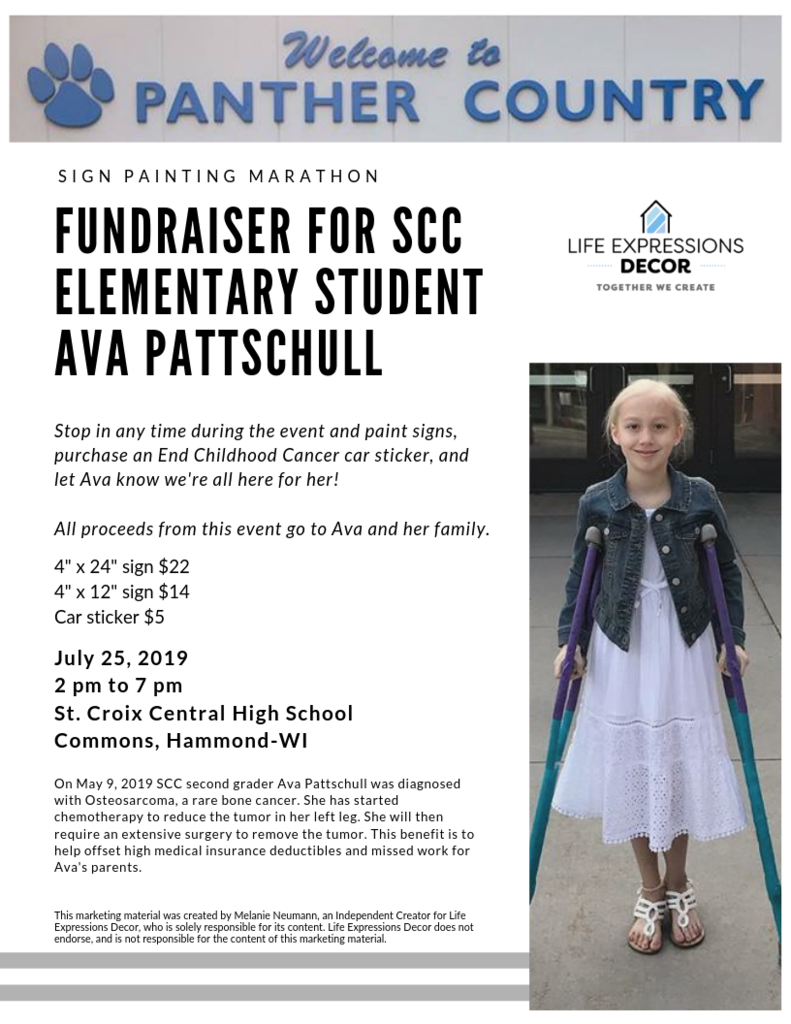 Ava's Painting Fundraiser