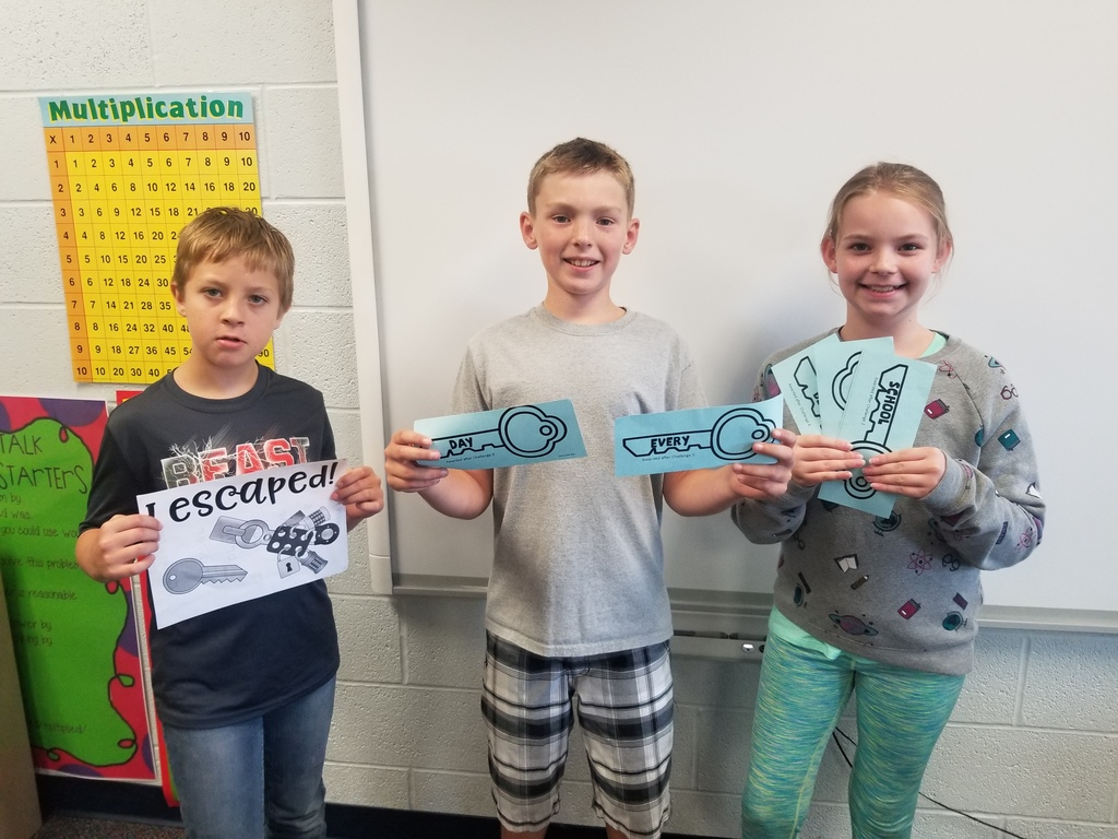 "These 5th graders ""Escaped to Middle School"" in Guidance!"