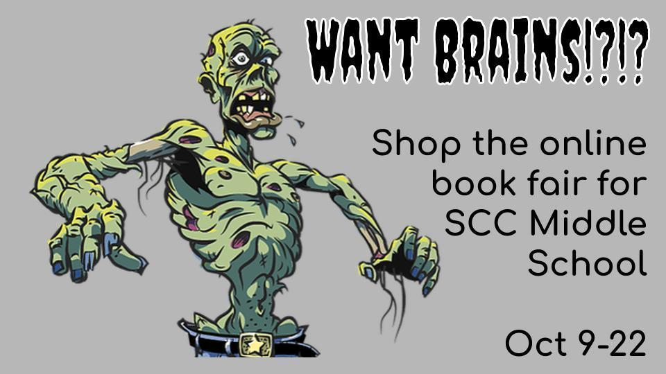 zombie book fair Oct 9