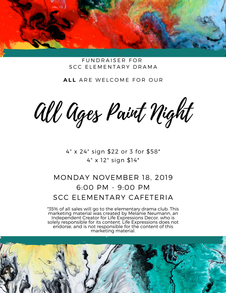 all ages paint night