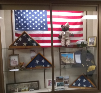 Elementary School Wall of Honor.  Thank you American Legion Post 432